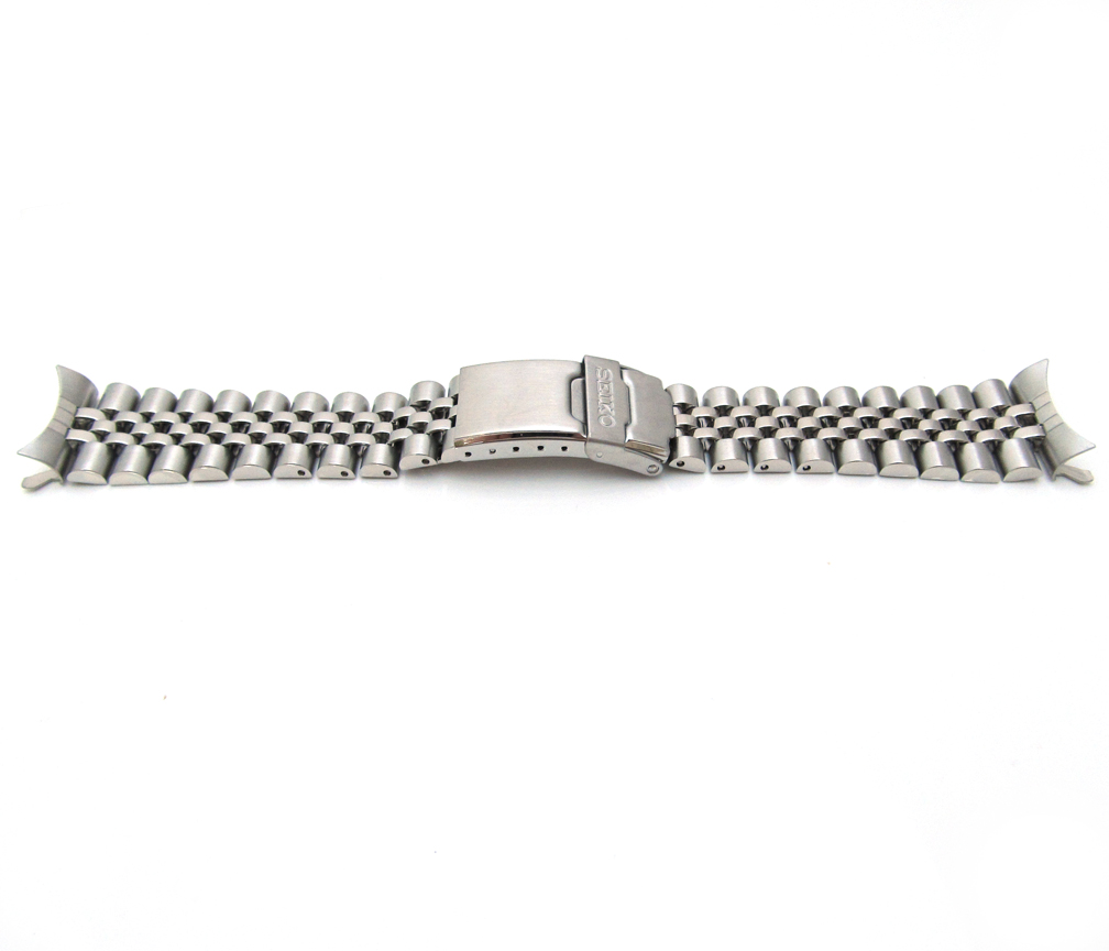 New Seiko 7s26 Watch Bracelet Strap Original Band Mens Stainless Steel 22mm  S55c