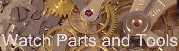 watch parts and tools banner